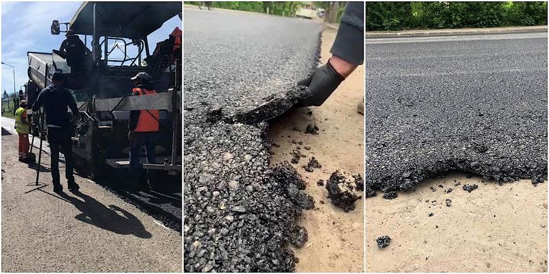 Subiectul asfaltării discutabile din Vatra Dornei a fost preluat pe larg în presa națională