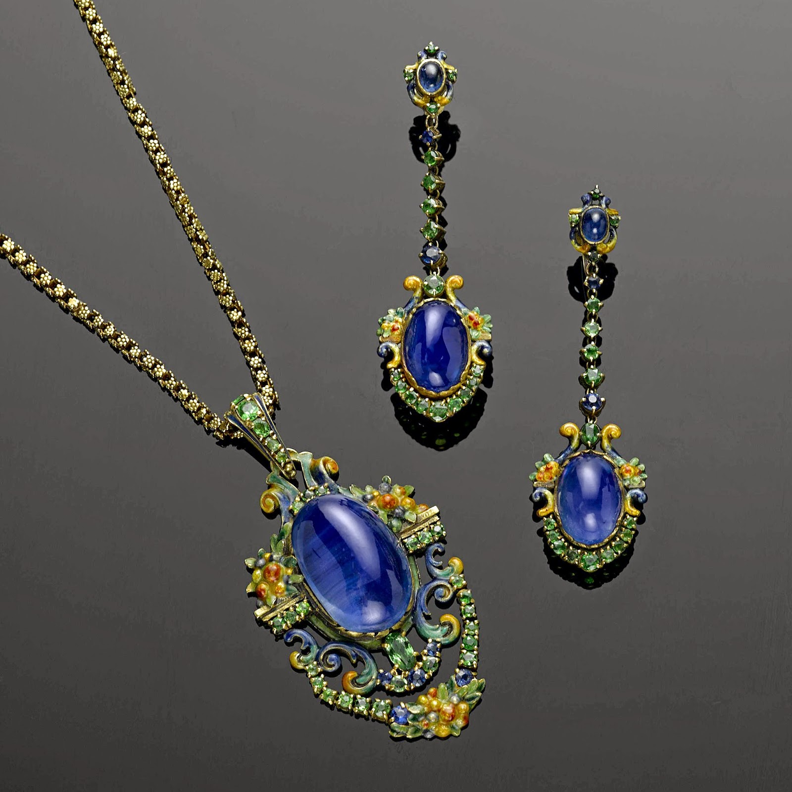 Jewelry News Network: Colorful Louis Comfort Tiffany ...