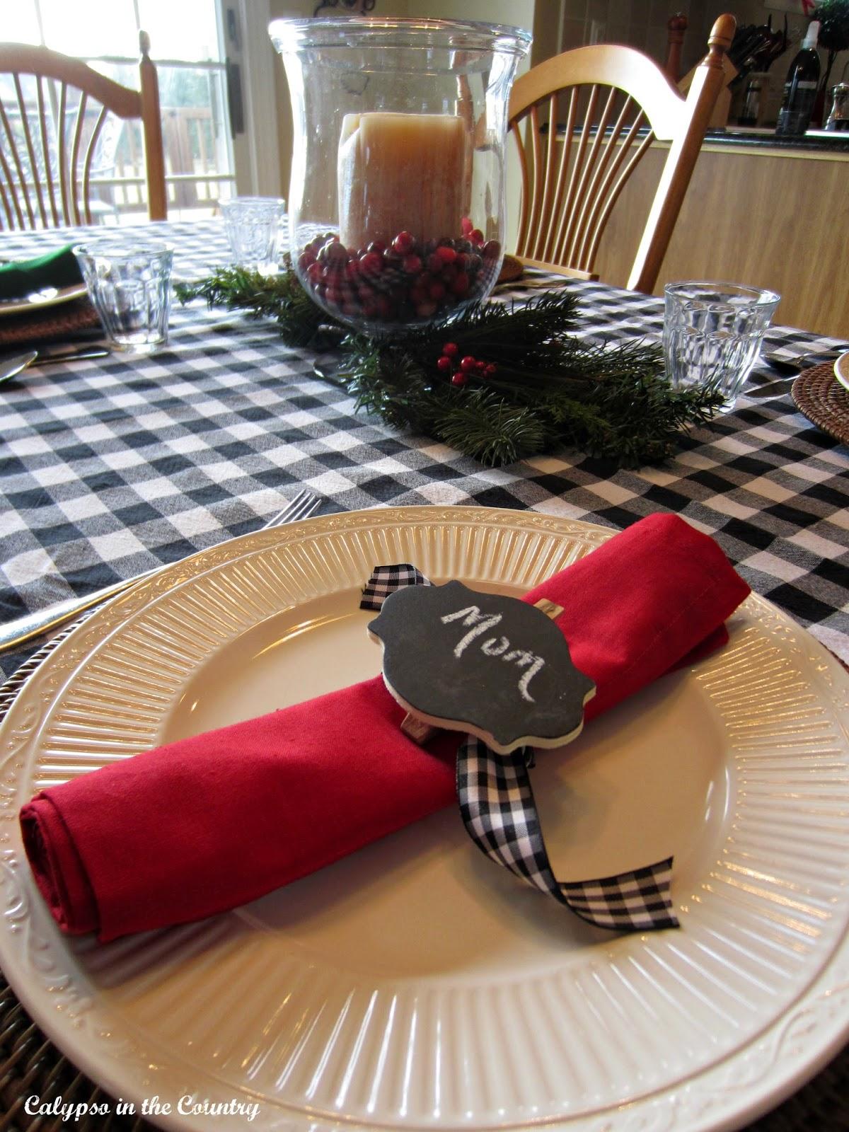 Christmas breakfast table ideas