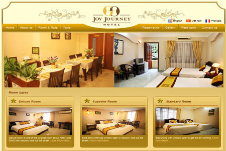 Tầm quan trọng của website trong kinh doanh khách sạn