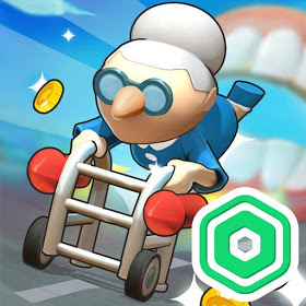 Download MOD APK Strong Granny - Win Robux for Roblox platform Latest Version