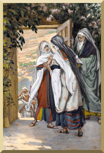 """The Visitation"" -- by James Tissot"
