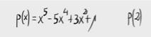49.Evaluación de polinomios. (Ruffini)