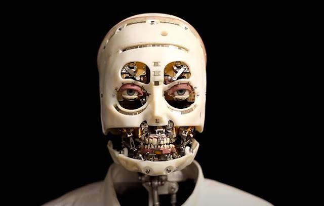 Robot Milik Disney Ini Biru Meniru Mimik Wajah Manusia