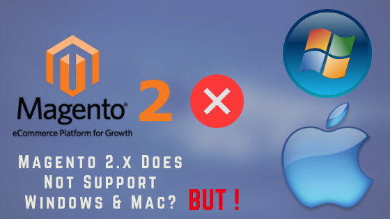 Magento 2.3.1 Does Not Support Windows & Mac