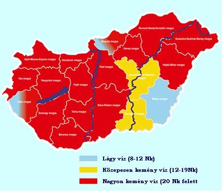 vízkeménység térkép magyarország A víz fő láncszem a vírusok terjesztésében   Vízkezelés  vízkeménység térkép magyarország