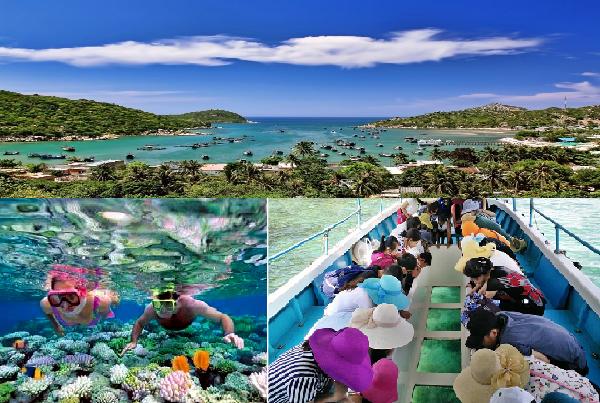 Kỳ nghỉ 30/04 này bạn có thể lựa chọn du lịch với phong cảnh thiên nhiên tuyệt đẹp của vịnh Vĩnh Hy