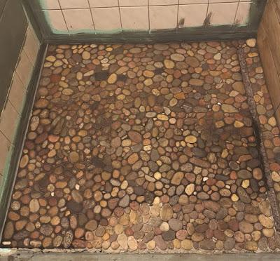 Renovierung Duschtasse Fußboden