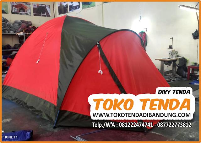 Tenda - Dome - 4 Orang