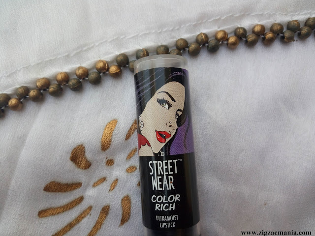 Street Wear Color Rich Ultra Moist Lipstick Pink Passion Price, ingredients, online availability, Packaging,