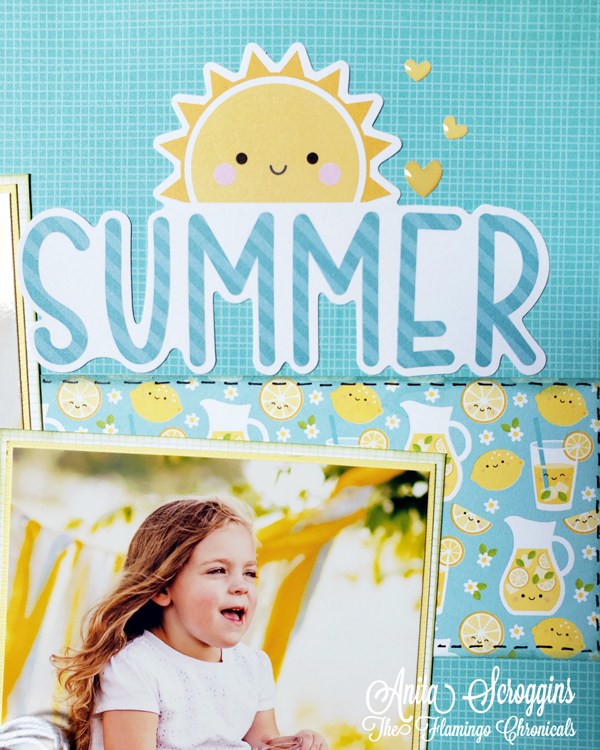 Summer Layout Title