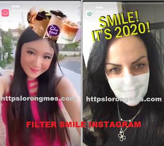 Smile filter instagram | Cara mendapatkan filter smile di instagram