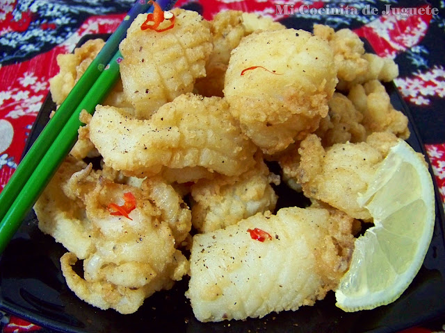 Calamares Chinos a la Sal y Pimienta
