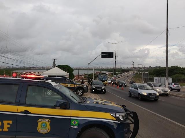 PRF registra duas mortes em rodovias do RN durante feriado da Proclamação da República