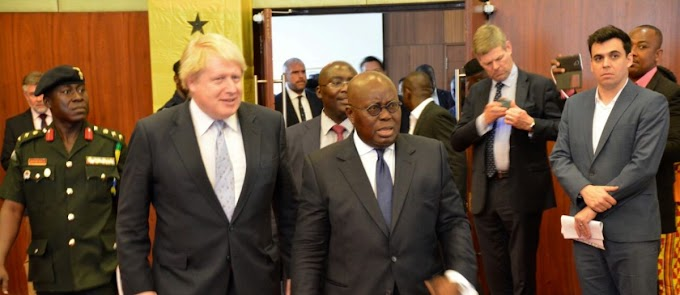 Boris Johnson pledges more UK investment in Ghana