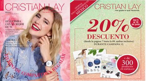 Catalogo Cristian Lay Mexico C-12 y 13 2017