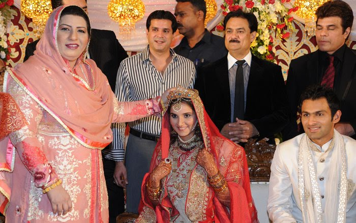 Sania Mirza Shoaib Wedding Photos1