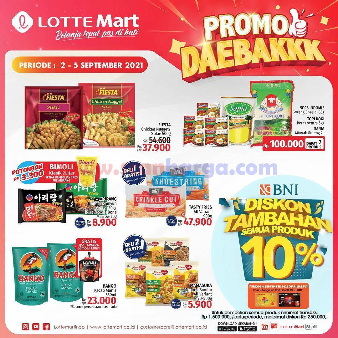 Katalog Promo Lottemart Weekend 2 - 5 September 2021 3