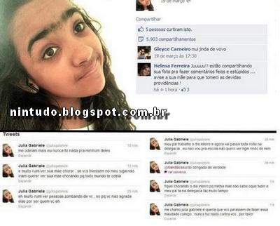 Como esta a garota que foi Humilhada no facebook por causa de suas sobrancelhas