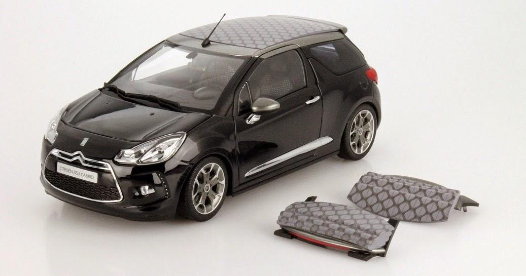 modellautos citroen c4 cactus und ds3 cabriolet neu von norev modellauto news. Black Bedroom Furniture Sets. Home Design Ideas