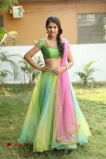 Actress Nikitha Bisht Stills in Lehenga Choli at Pochampally Ikat Art Mela Launch  0417.JPG