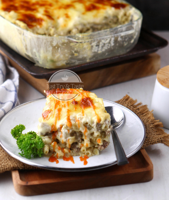 Resep Best Cheesy Macaroni Schotel JTT