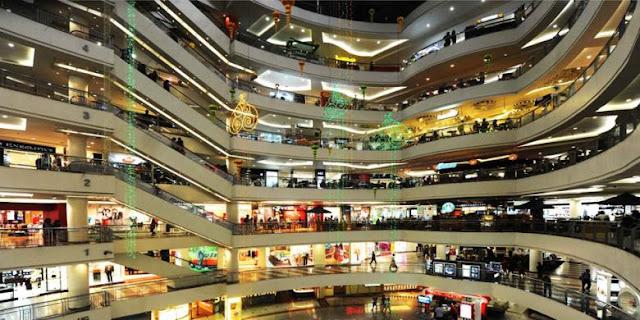 Daftar Mall dan Pusat Perbelanjaan Besar di Surabaya