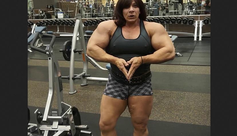 Tina Zampa National Level Bodybuilder