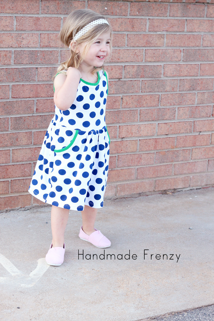 Soleil Dress pattern - by: Selvage Designs