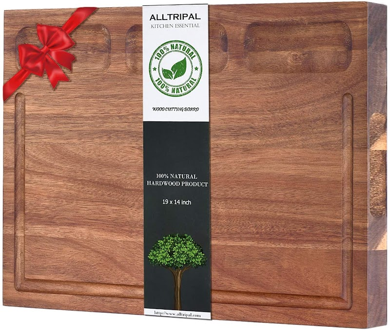 50%OFF Acacia Wood Cutting Board-Large