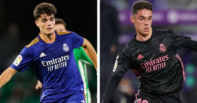 Real Madrid renew contracts of talented youngsters Miguel and Arribas