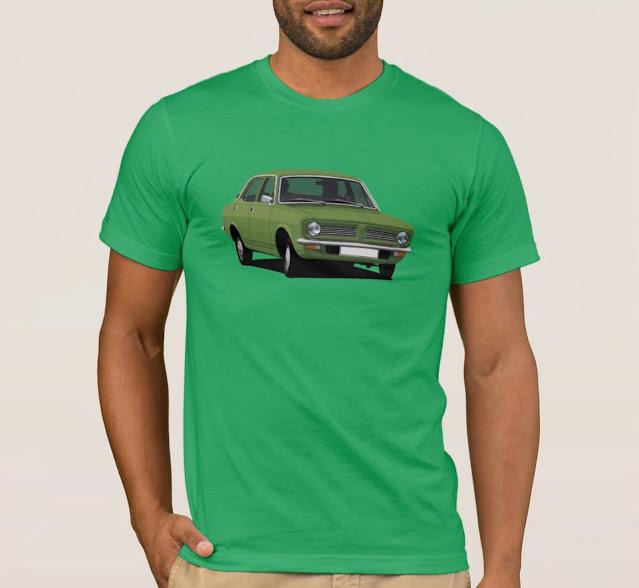 Classic cars - Morris Marina t-shirt