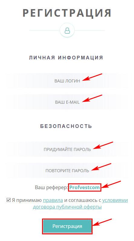 Регистрация в Zytre Investment LTD 2