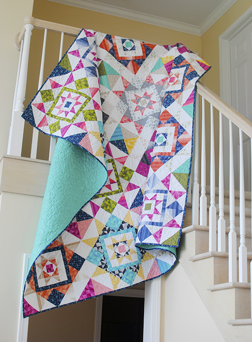 Barn Dance Quilt Free Pattern