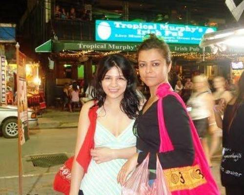 Ayesha Omer with Maria Wasti