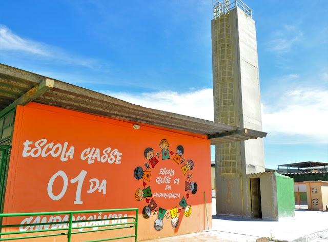 Mais duas escolas foram reformadas na Candangolândia DF