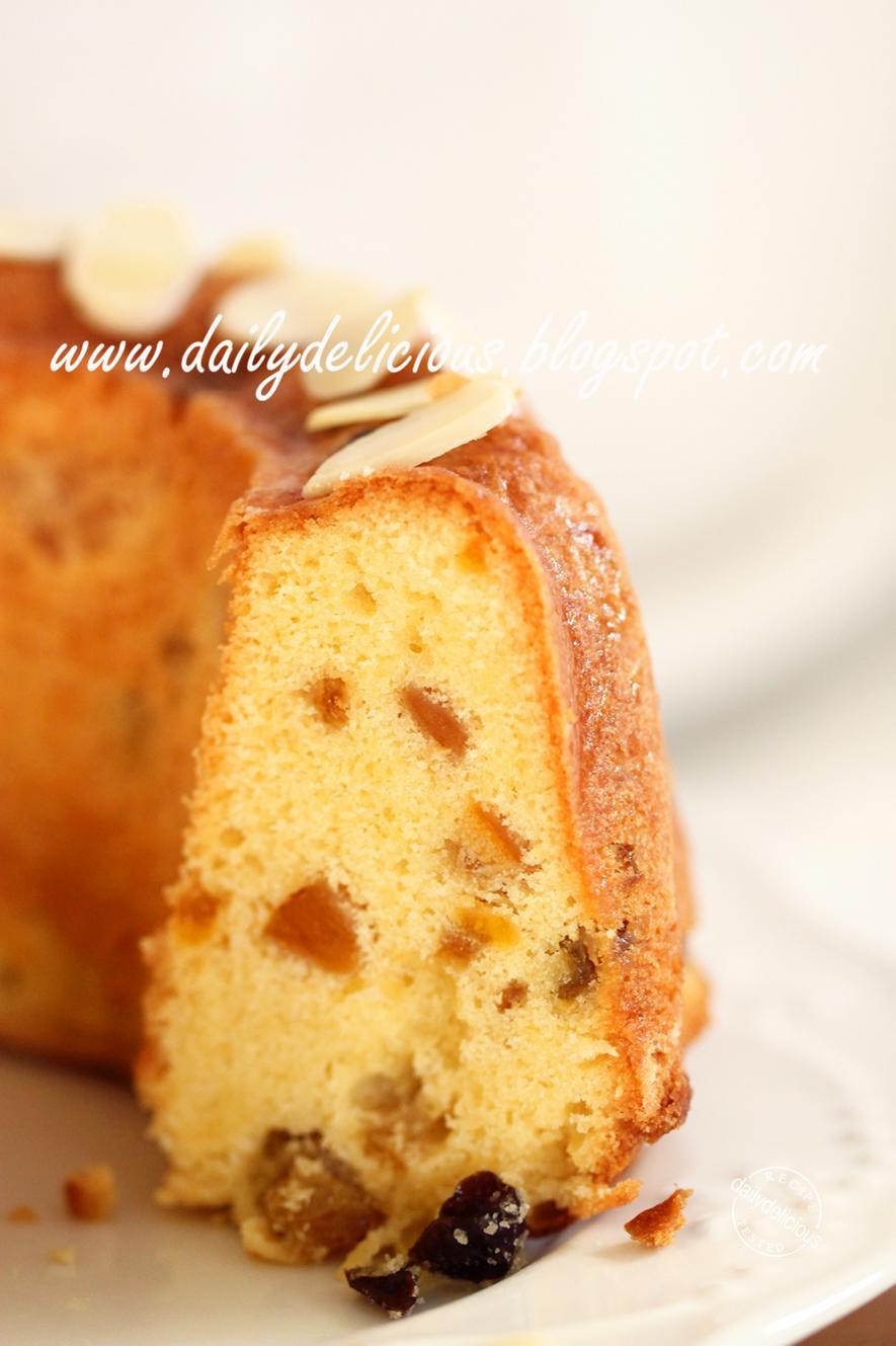Fruit Cake Mix Easy