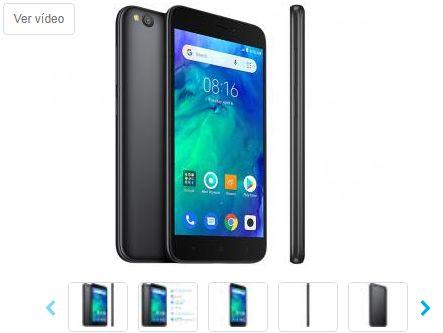 Smartphone Xiaomi Redmi Go 16GB Preto 4G
