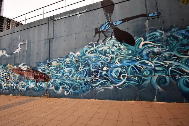 Canberra Street Art | Belconnen mural by Stylized Impact & Byrd