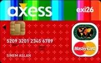 axess eksi26 kredi kartı