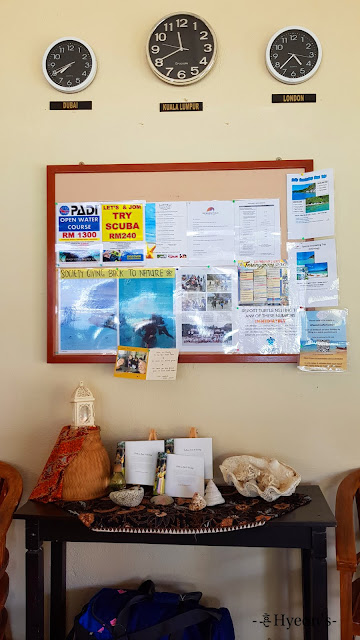 Hyeon Travel Journal; Pulau Perhentian Resort