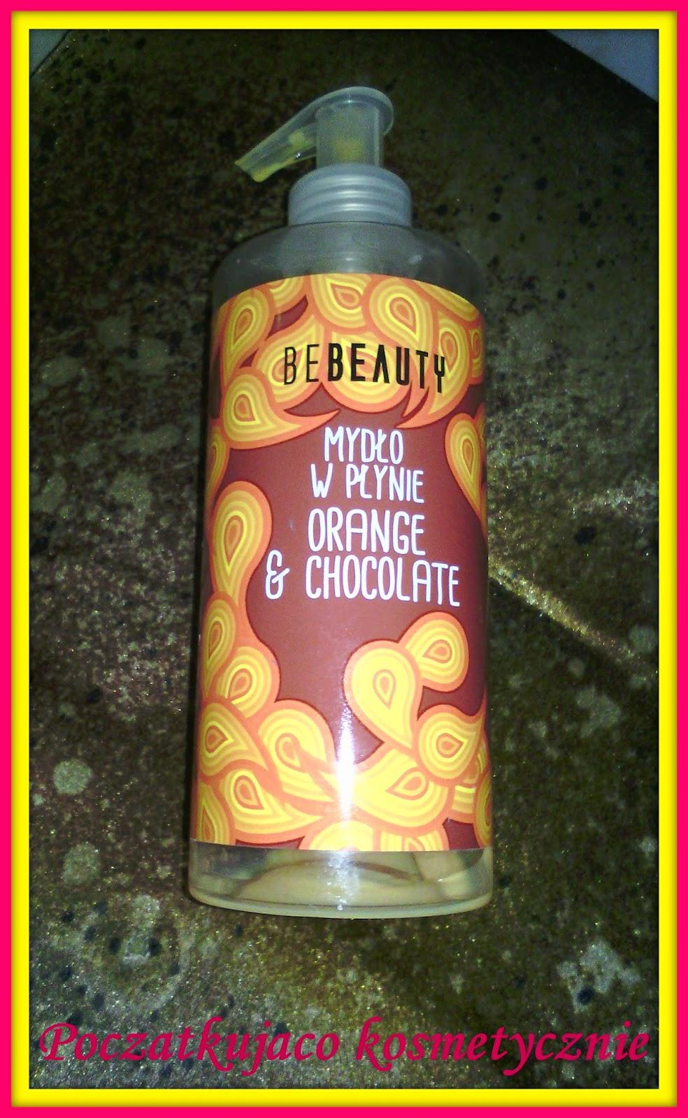 Be beauty mydło do rąk czekolada i pomarańcza zestaw świąteczny