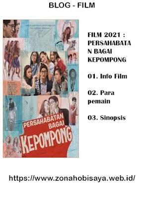 Sinopsis Film Terbaru 2021 Persahabatan Bagai Kepompong