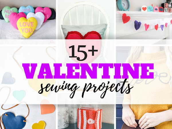 15+ Easy Valentine Sewing Projects