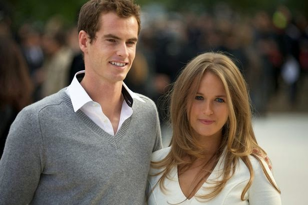 andy murray relationship with girlfriend