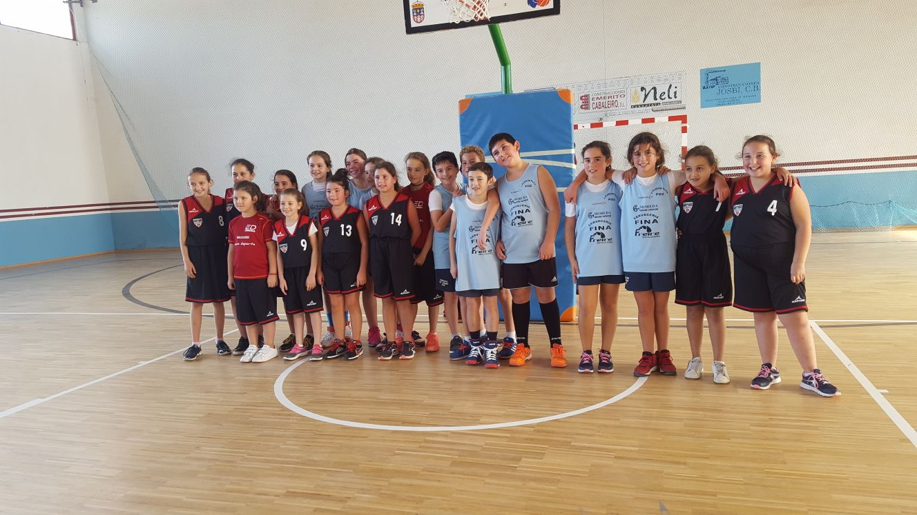 Escolas Deportivas Lourenz Basket Mini O Terras Da Mari A  # Muebles Huertas Lourenza