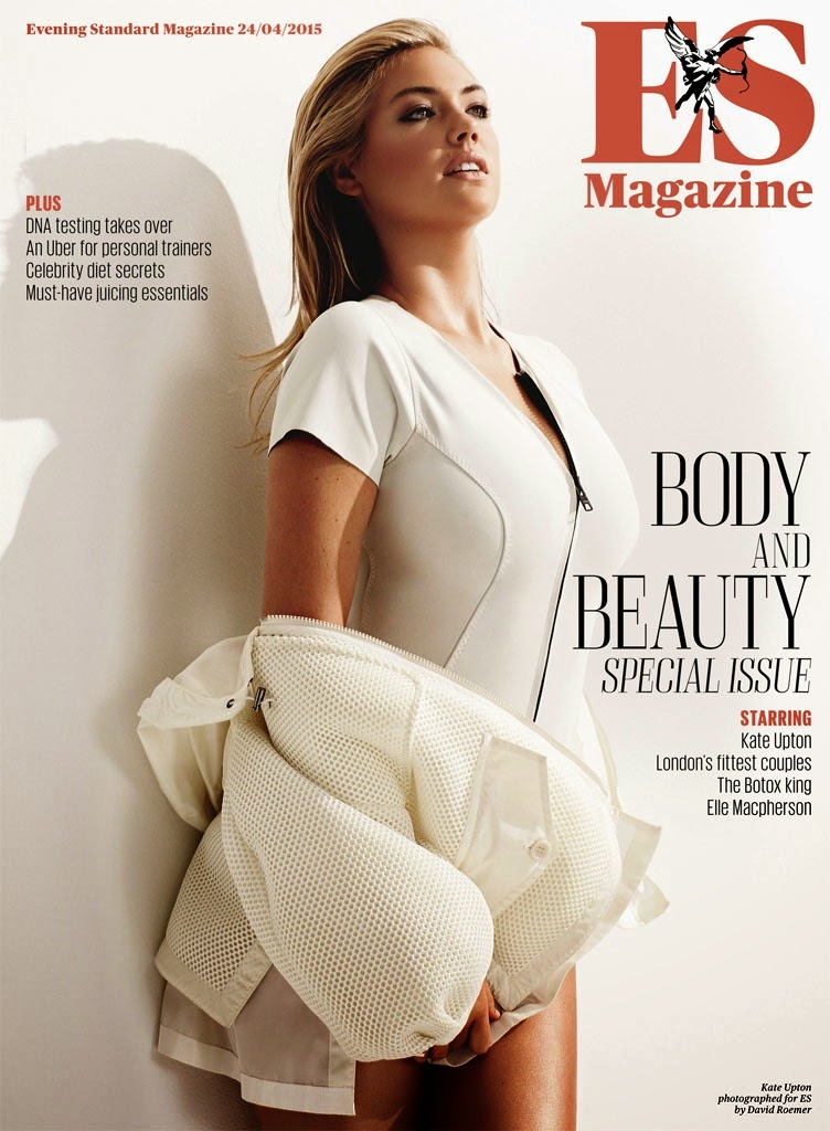 Kate Upton shows off curves for ES Magazine May 2015