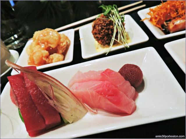 Menú Almuerzo en Oishii, Boston