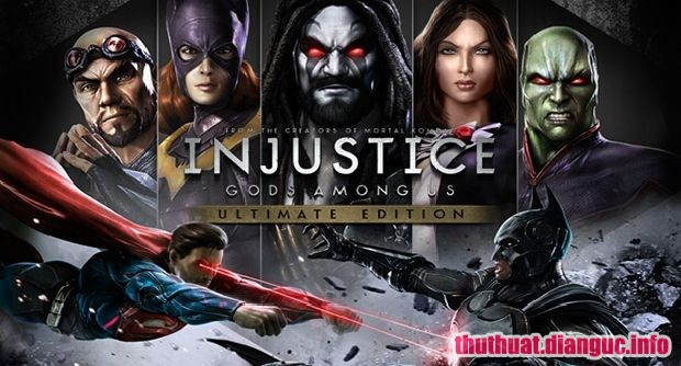 Download Game Injustice: Gods Among Us Ultimate Edition Full Cr@ck