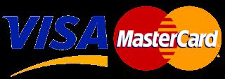 Подключили VISA и MasterCard
